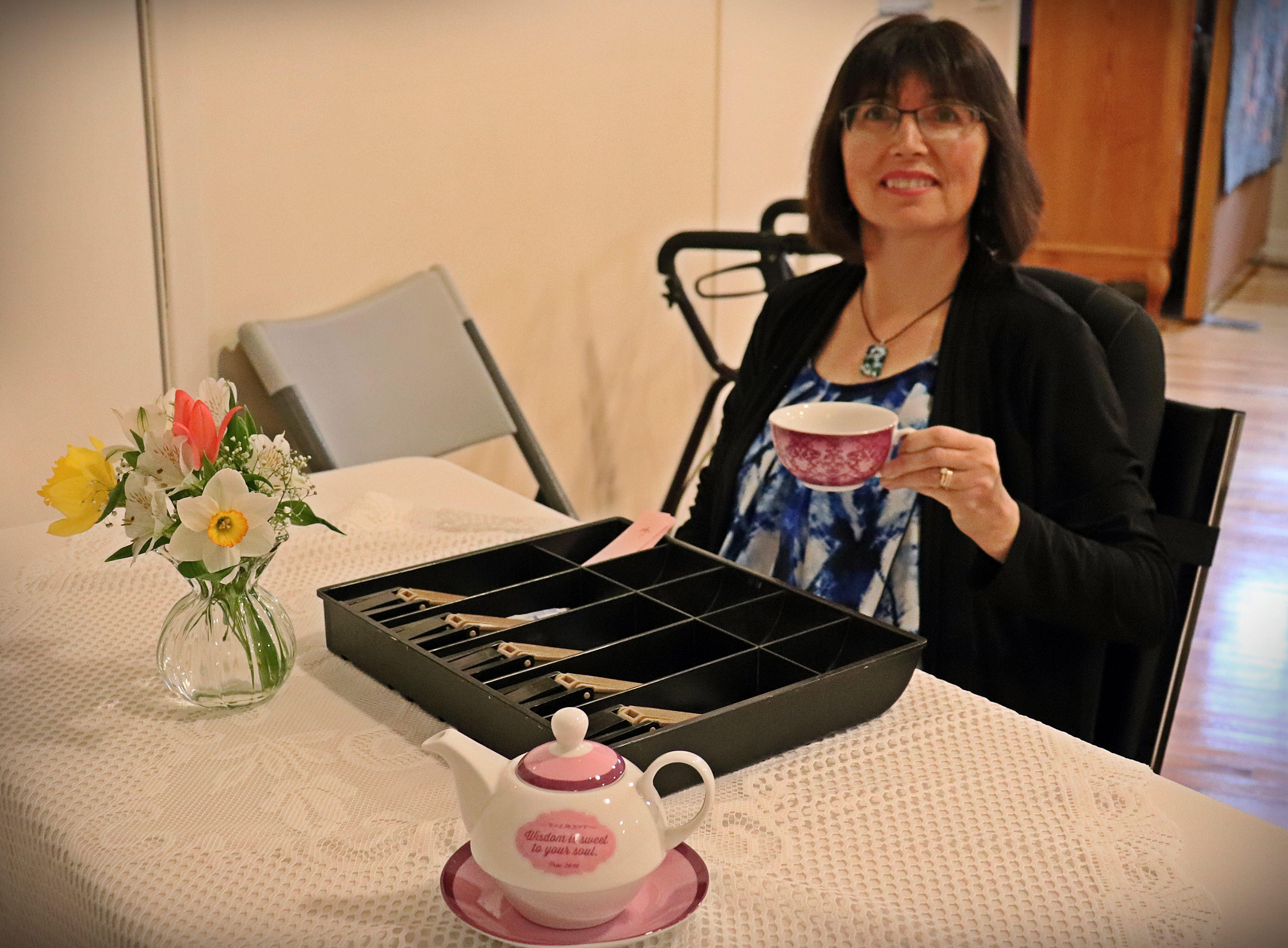 ACW Spring Tea - Lorraine Comeau