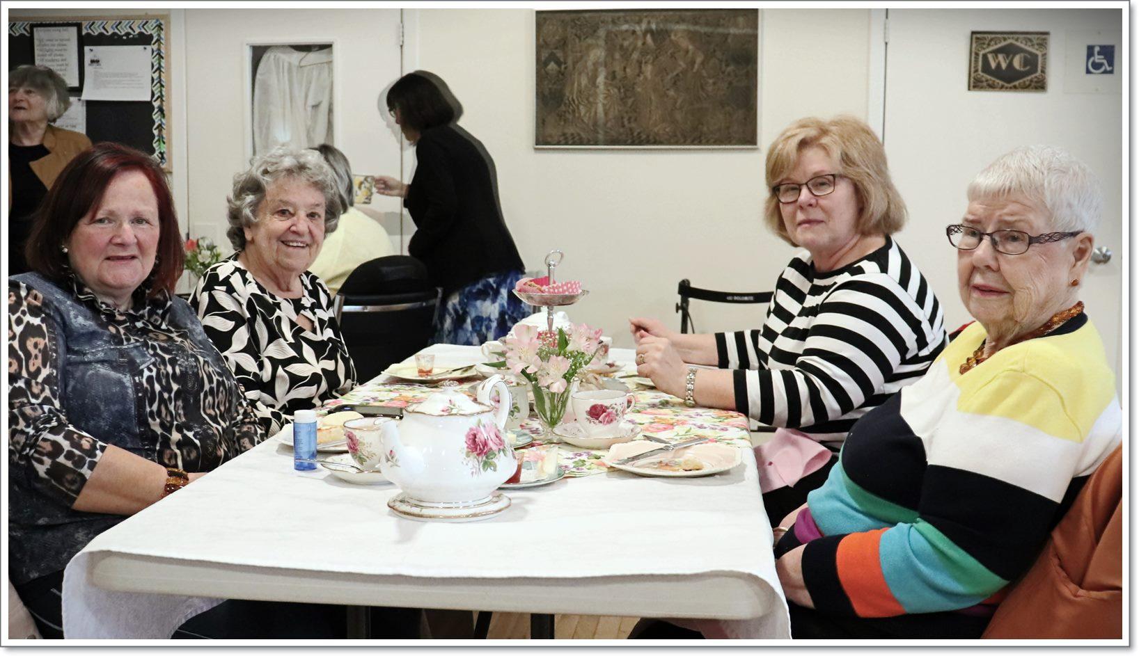 ACW Spring Tea - Table 3