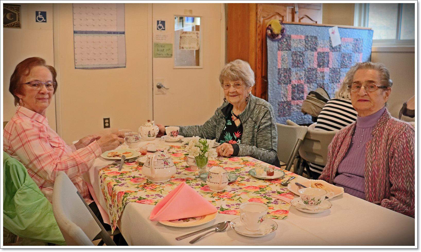 ACW Spring Tea - Table 4