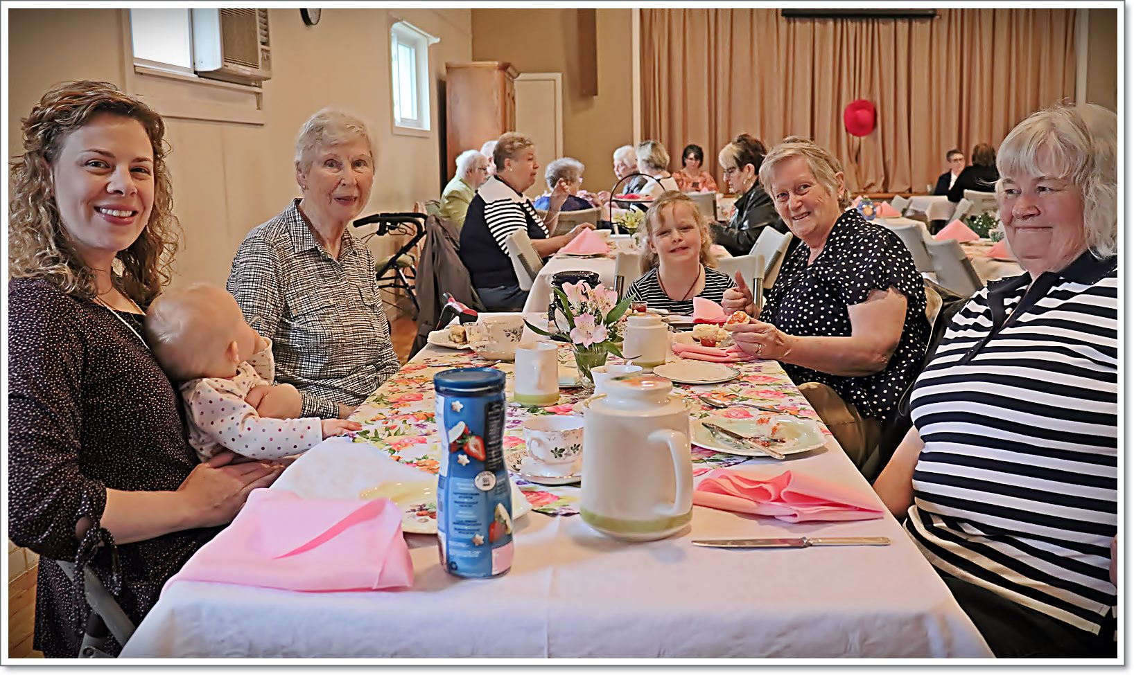ACW Spring Tea - Table 5