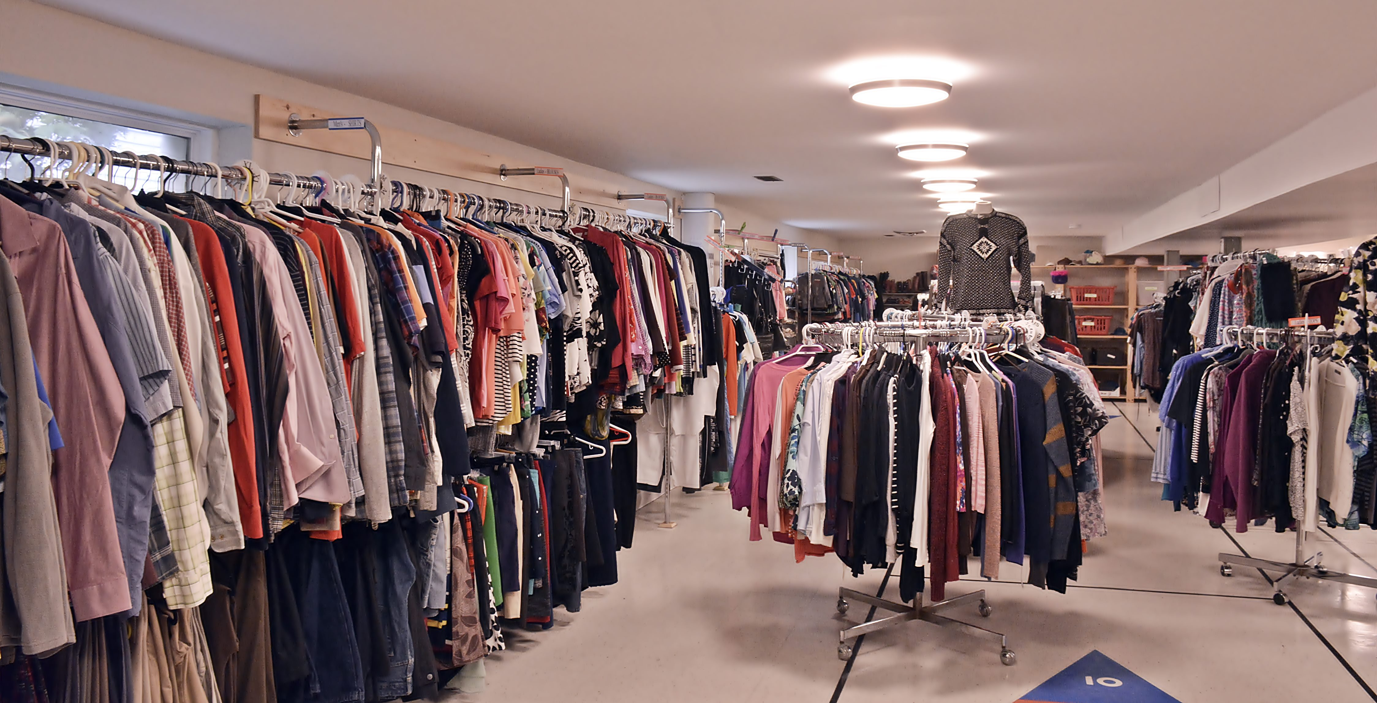 St. Mary\'s Clothing Closet - Blessing of the Clothing Closet 1