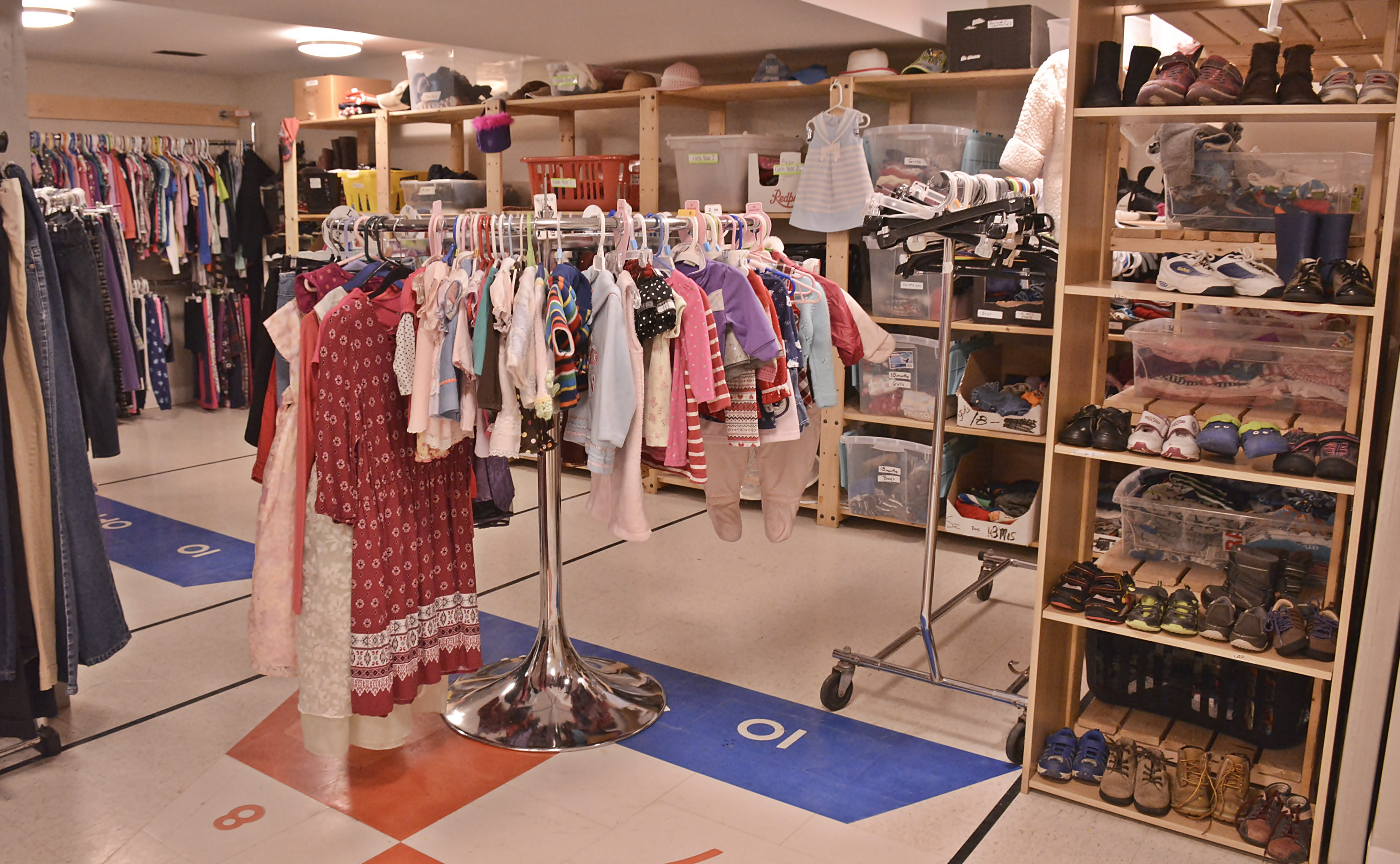 St. Mary\'s Clothing Closet - Blessing of the Clothing Closet 2