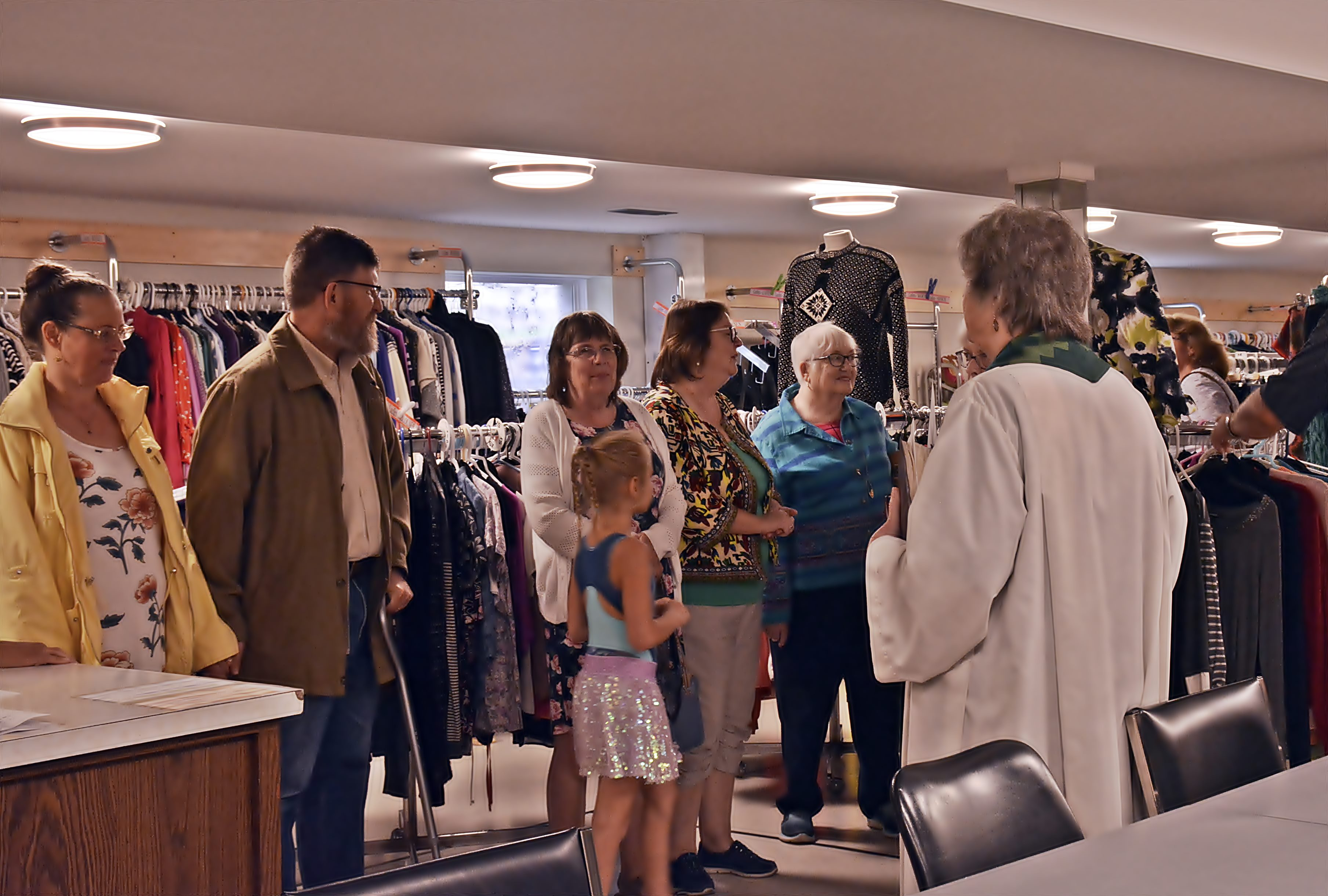 St. Mary\'s Clothing Closet - Blessing of the Clothing Closet 3