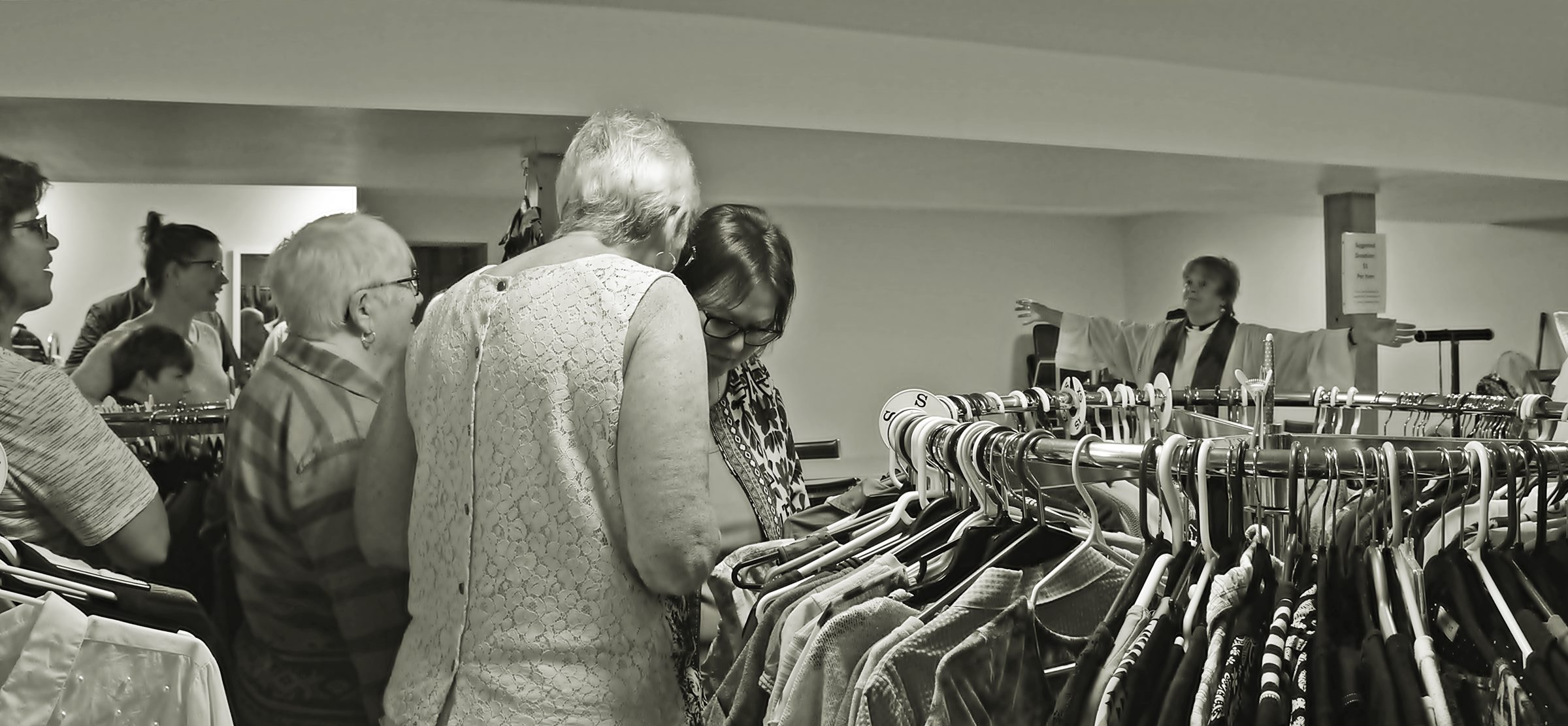 St. Mary\'s Clothing Closet - Blessing of the Clothing Closet 4