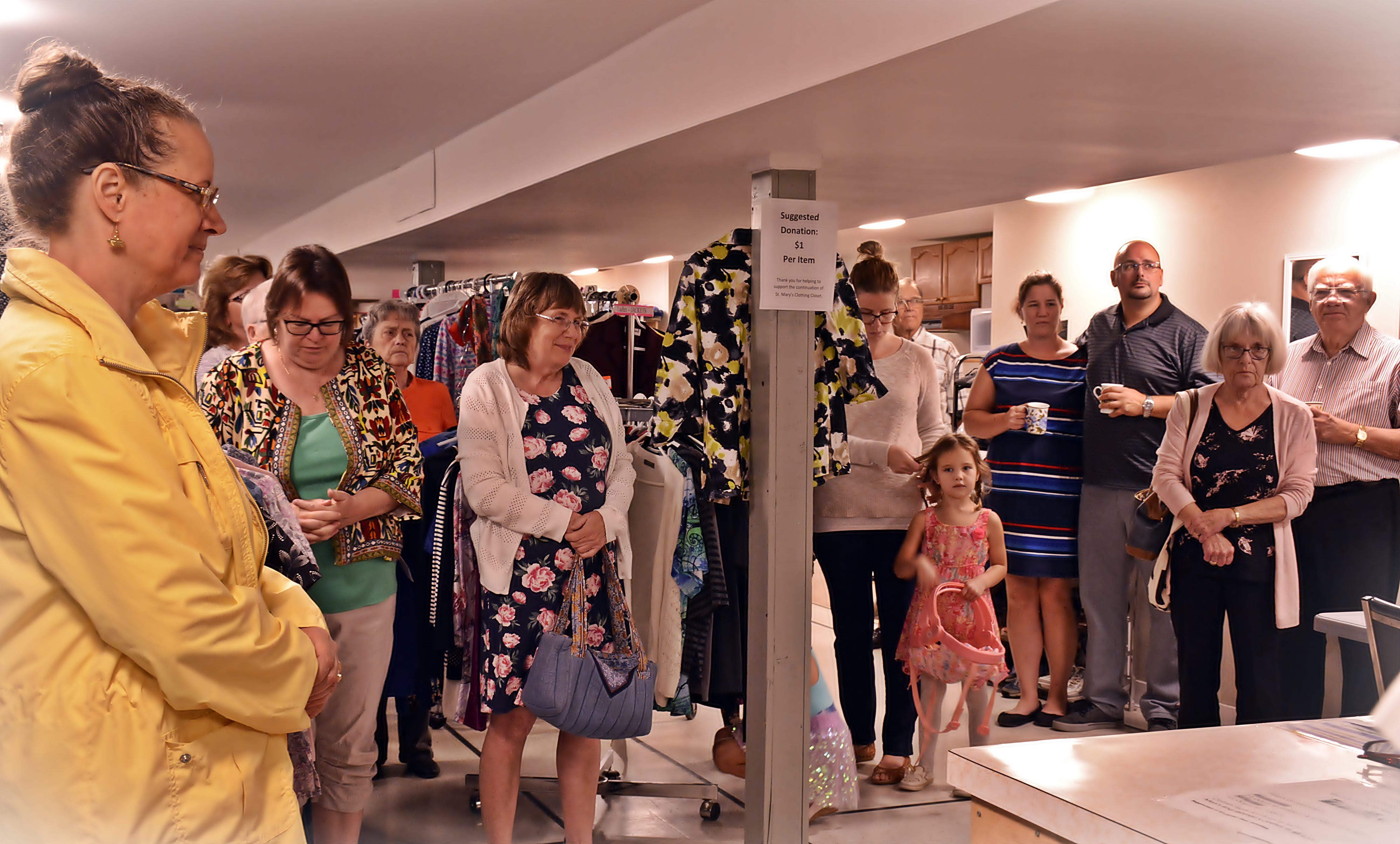 St. Mary\'s Clothing Closet - Blessing of the Clothing Closet 5